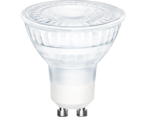 Ampoule à réflecteur LED FLAIR PAR16 GU10/4,8W(50W) transparente 345 lm 2700 K blanc chaud