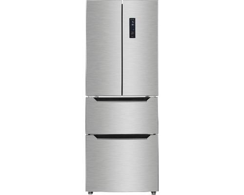 Réfrigérateur multi-portes Wolkenstein FD351.4A++NFIX lxhxp 63.5 x 185.5 x 68.50 cm compartiment de réfrigération 191 l compartiment de congélation 129 l