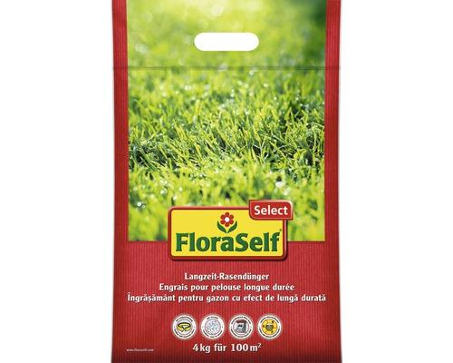 Engrais pour gazon FloraSelf Select 4 kg 100 m²