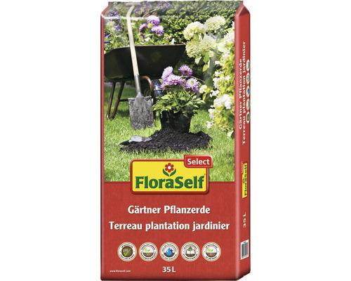 Gärtner Pflanzerde FloraSelf Select, 35 L