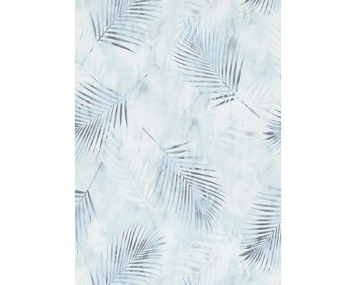 Papier peint intissé 0257920 GMK Fashion for Walls palmier bleu blanc