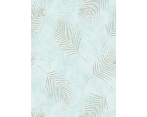 Papier peint intissé 0257918 GMK Fashion for Walls palmier bleu brun