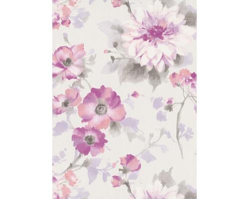 Papier peint intissé 1005105 GMK Fashion for Walls Uni fleurs blanc rose
