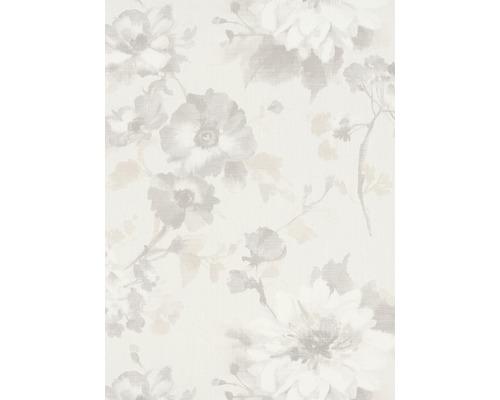 Papier peint intissé 1005114 GMK Fashion for Walls fleur crème gris