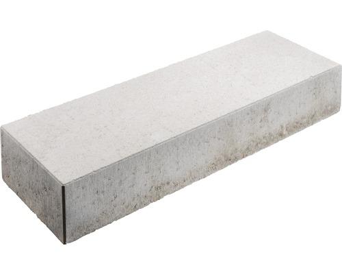 Bloc de marche en béton gris 100 x 35 x 16 cm