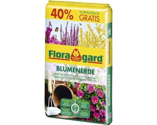 Terreau pour fleurs Floragard 28l