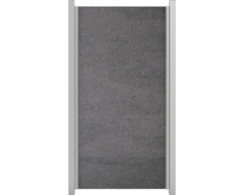 Élément partiel GroJa céramique 90x180cm anthracite