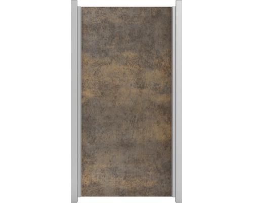 Élément partiel GroJa céramique 90x180cm aspect rouille