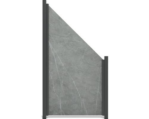 Élément de finition GroJa céramique 90x180/90cm granit