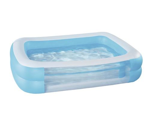 Pataugeoire Family-pool avec fenêtre bleu