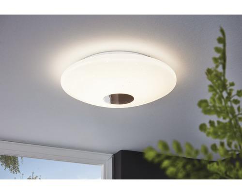 Plafonnier LED RGB CCT blanc à intensité lumineuse variable 17W 2100 lm 2765 K blanc chaud Ø 380 mm