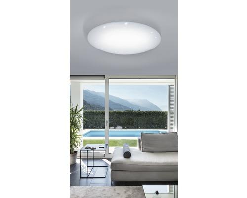 Plafonnier à LED effet cristal 80 W 7800lm