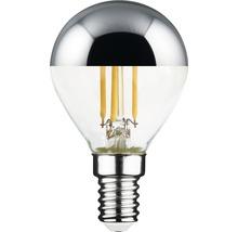 Ampoule à calotte réfléchissante FLAIR LED argent E14/4,5 W (34W) 380 Im 2700 K blanc chaud P45-thumb-0