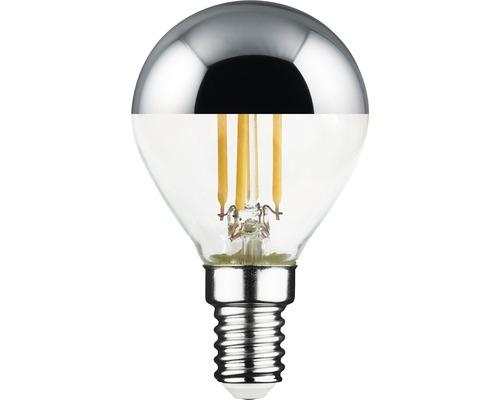 Ampoule à calotte réfléchissante FLAIR LED argent E14/4,5 W (34W) 380 Im 2700 K blanc chaud P45-0