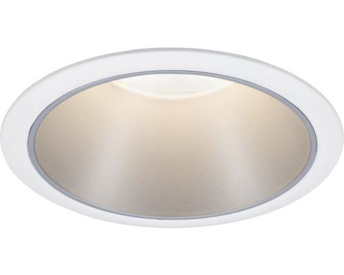 Éclairage LED à encastrer IP44 à intensité lumineuse variable 6,5W 460lm 2700K blanc chaud Cole blanc argenté Ø80/88mm 230V