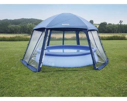 Toit pour piscine Steinbach Mega 500x433cm plastique bleu
