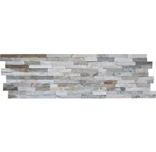 Revêtement mural pierre naturelle beige multicolore Z40/10 WE KW05/20-thumb-0