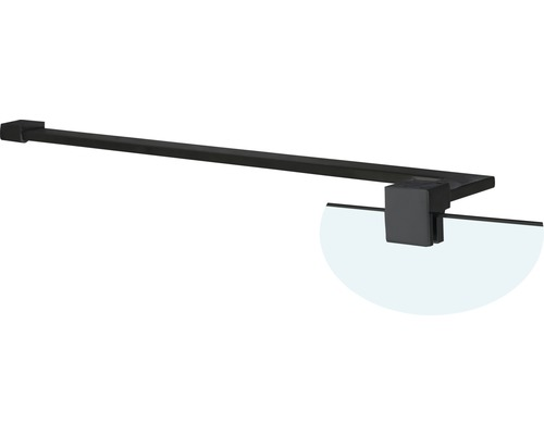 Barre de stabilisation d''angle Basano Modena black 61,5x21,5 cm mat noir