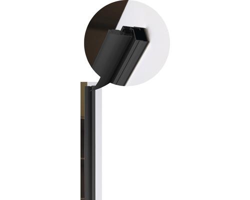 Profilé de butée Basano Modena black 195 cm mat noir