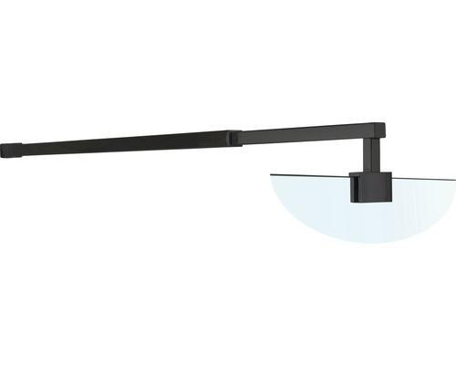 Barre de stabilisation télescopique Basano Modena black 70-120 cm mat noir