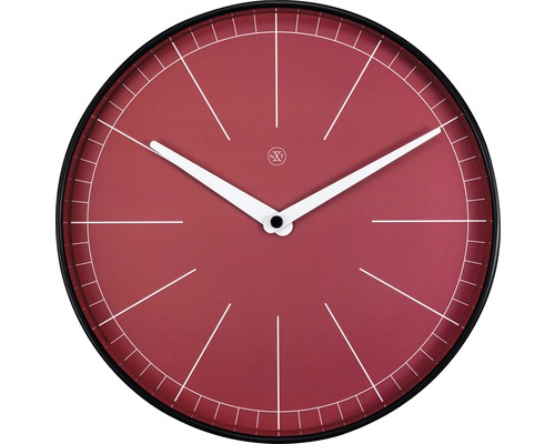 Horloge murale Axel rouge Ø 25cm