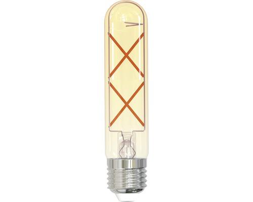 Ampoule LED FLAIR E27/4W(29W) T32 à filament ambre 315lm 1800K blanc chaud-0