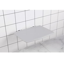 Siège pliant pour douche REIKA chrome/gris-thumb-3
