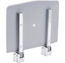 Siège pliant pour douche REIKA chrome/gris-thumb-2