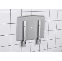 Siège pliant pour douche REIKA chrome/gris-thumb-4