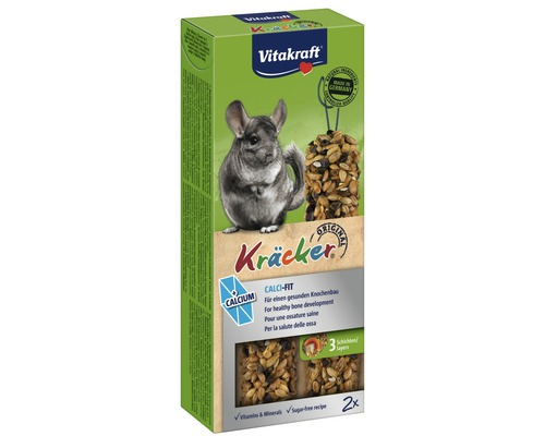 Snack pour rongeurs Vitakraft Kräcker® au calcium