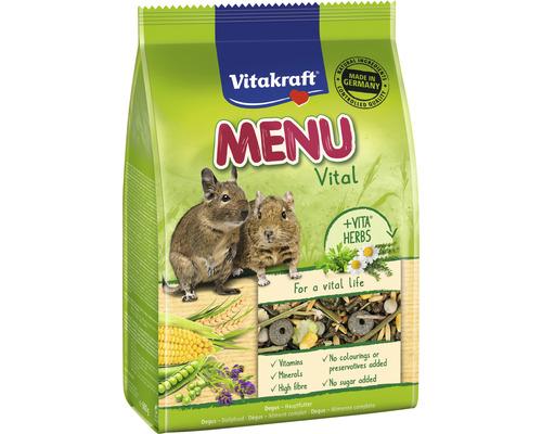 Snack pour rongeurs Vitakraft nourriture principale, menu Degus 600 g