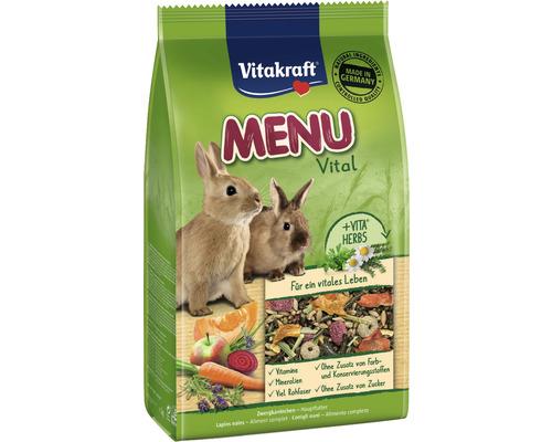 Aliment pour rongeurs Vitakraft aliment pour lapins nains 1 kg