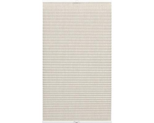 Store plissé tamisant Wohnidee 60x130 cm beige-0