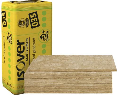 Panneau acoustique ISOVER Akustic SSP1 pour plafonds acoustiques non masqués catégorie de conductivité thermique 035 1250 x 600 x 20 mm