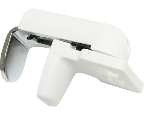 Support de serrage pour plissé blanc lot de 4-0