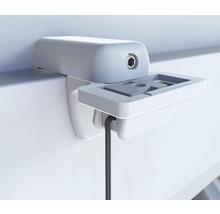 Support de serrage pour plissé blanc lot de 4-thumb-1