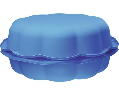 Enfants sable et eau moules plastique 94 x 91 x 22 x 22 cm bleu