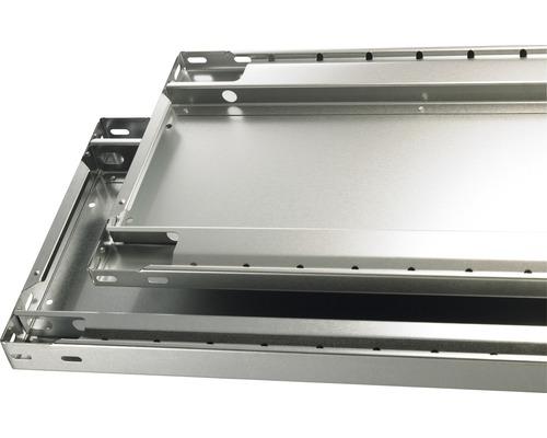 Tablette supplémentaire pour système empilable Schulte MULTIplus150 avec 4 supports d'étagère 1000x400mm jusqu'à 150kg
