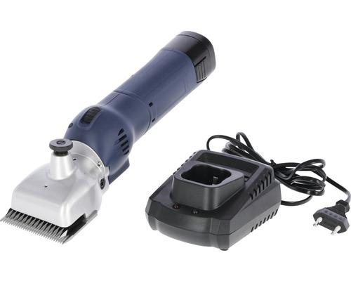 Tondeuse sans fil FarmClipper Akku2 pour bœuf, 2 batteries incluses, jeu de lames 21/23 dents