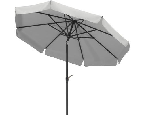 Parasol Schneider Orlando Ø 270 cm gris argent