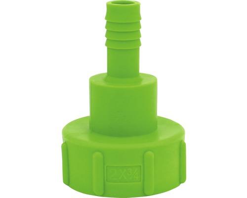 Adapter GARANTIA für IBC Tank 2 auf 3/4 Zoll grün