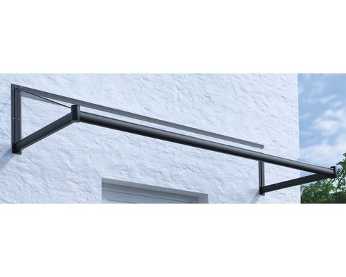 Vordach Pultform Nancy VSG 150x100 cm anthrazit