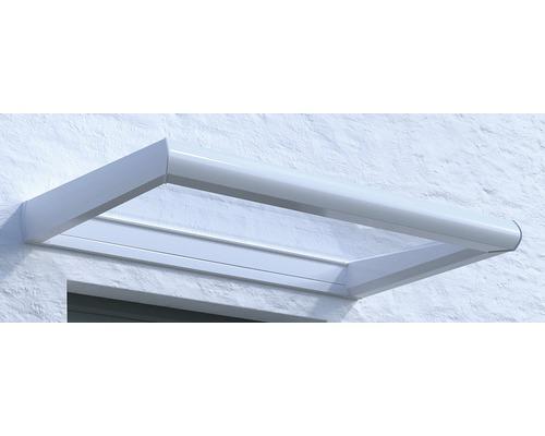 Vordach Rechteck Orleans VSG 175x75 cm weiß