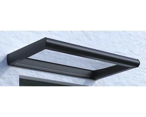 Vordach Rechteck Orleans VSG 200x95 cm anthrazit