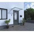 Vordach Rechteck Orleans VSG 150x75 cm weiß