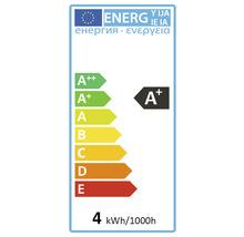 Ampoule LED FLAIR E27/4W(29W) T32 à filament ambre 315lm 1800K blanc chaud-thumb-1