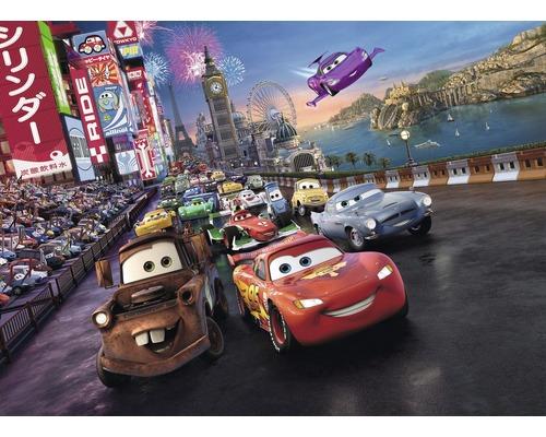 Papier peint photo Disney Cars Race 254x184cm