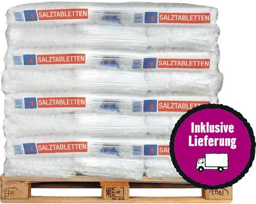 Comprimés de sels régénérants pour adoucissement de l''eau 40x25 kg