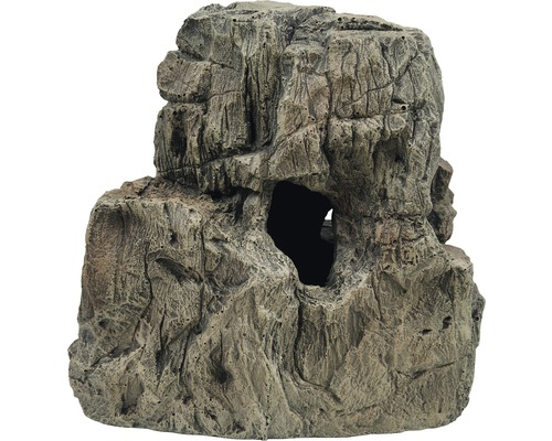 Décoration d''aquarium grottes dans rocher 27x16x27cm