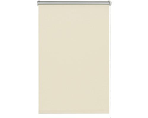 Store à clipser occultant sans perçage thermo beige 45x150 cm avec support à clipser